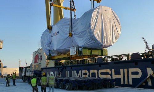 Ghannouch, Gasturbine Unloading 06.10.09, 3